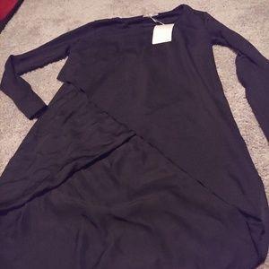 Zara assymetrical blouse